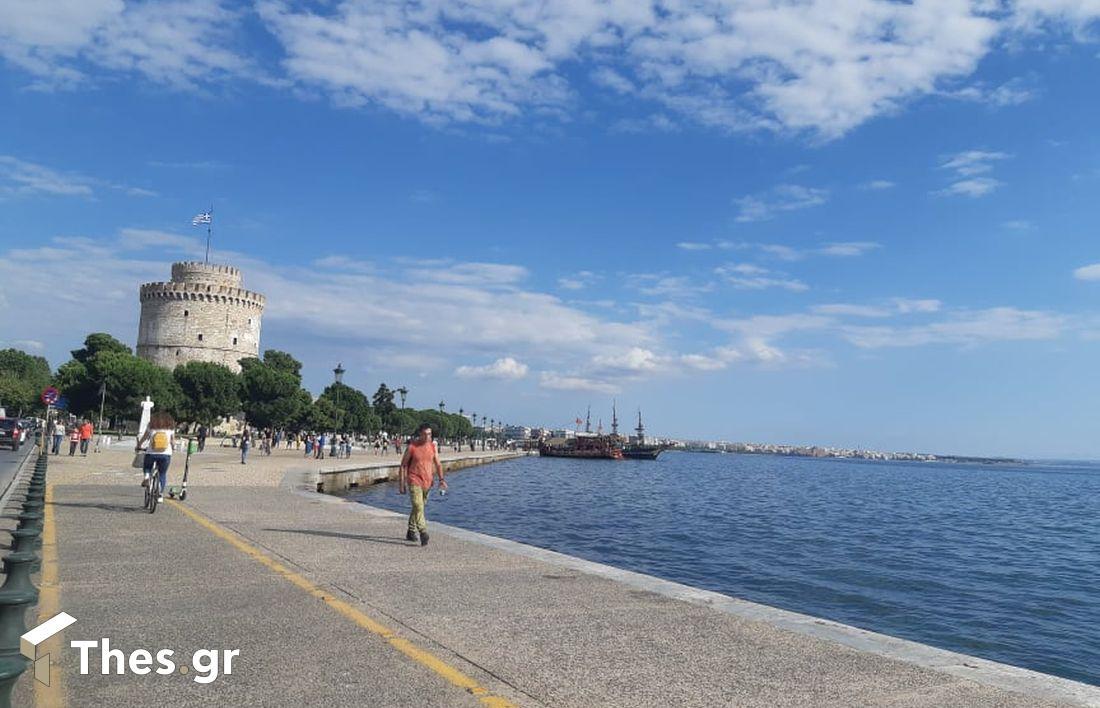 καιρός Θεσσαλονίκη κορονοϊού