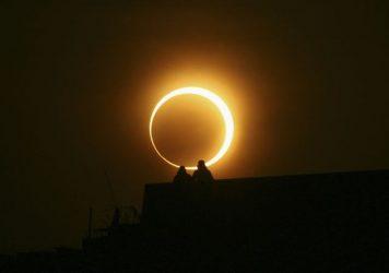 Δακτυλιοειδής έκλειψη ηλίου ορατή από την Ελλάδα