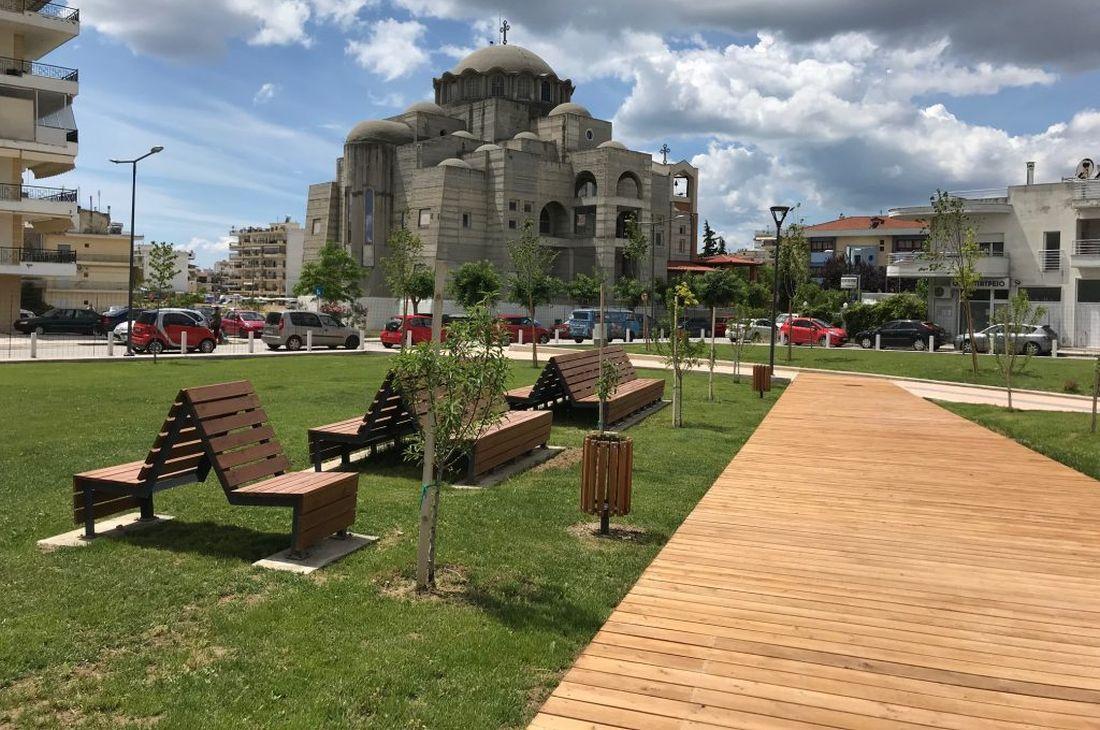 Παραδίδεται το Δημοτικό Πάρκο Νικόπολης
