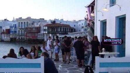 Βασιλακόπουλος: «Στη Μύκονο δεν τηρούνται τα μέτρα»