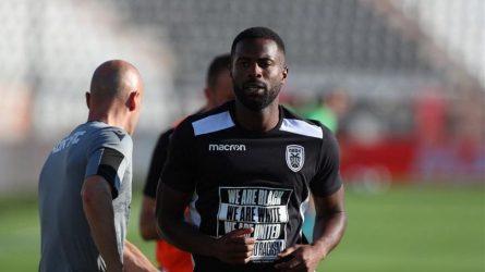 Ηχηρό μήνυμα των παικτών του ΠΑΟΚ ενάντια στον ρατσισμό (ΦΩΤΟ)