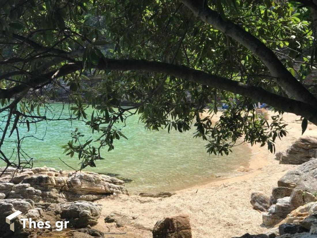 παραλίες παραλία Ολυμπιάδα Χαλκιδική καλοκαίρι