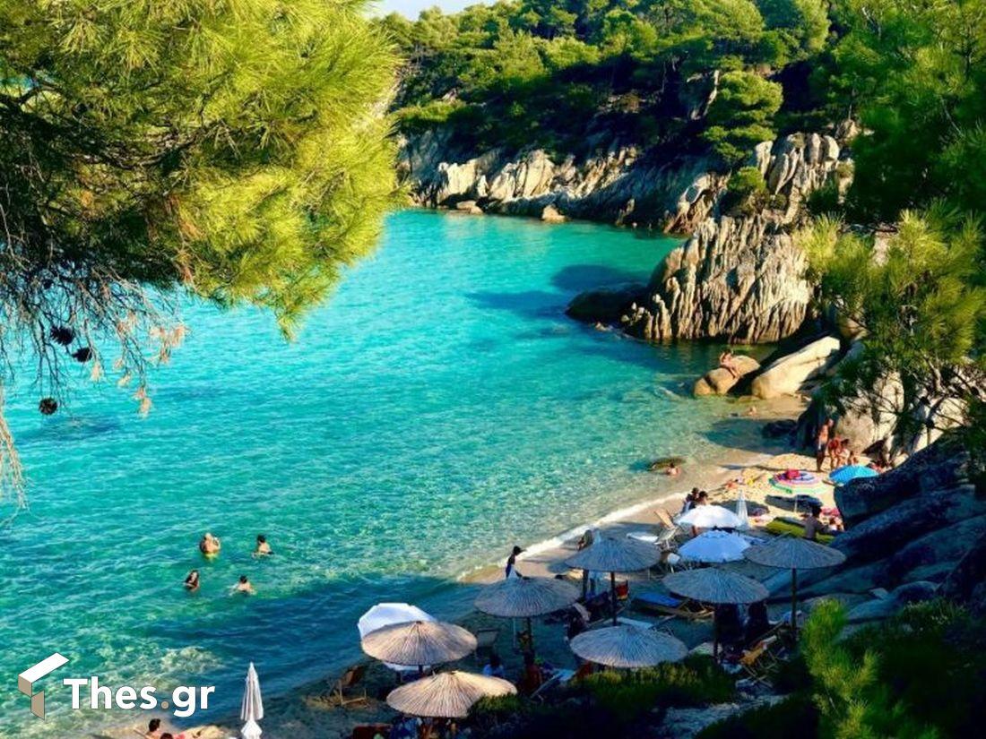 παραλίες Βόρεια Ελλάδα Χαλκιδική Παράδεισος