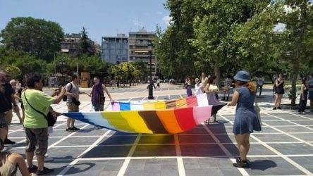 5ο Αυτοοργανωμένο Thessaloniki pride: Πορεία στο κέντρο της πόλης