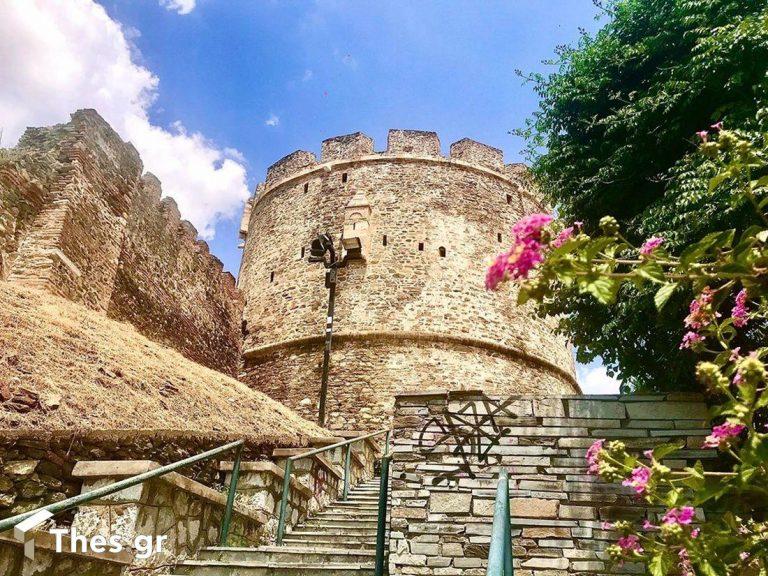 Πύργος Τριγωνίου Πύργου Πύργος Αλύσεως πύργος Ανω Πόλη Θεσσαλονίκη