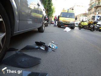 Θεσσαλονίκη: Νεκρός δικυκλιστής σε τροχαίο