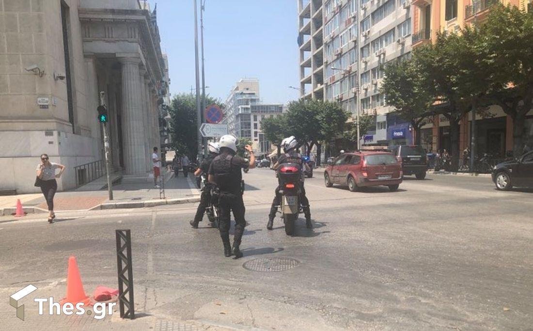 Θεσσαλονίκη: Συναγερμός για ύποπτο αντικείμενο στο Μνημείο του Ολοκαυτώματος, φωτογραφία-1