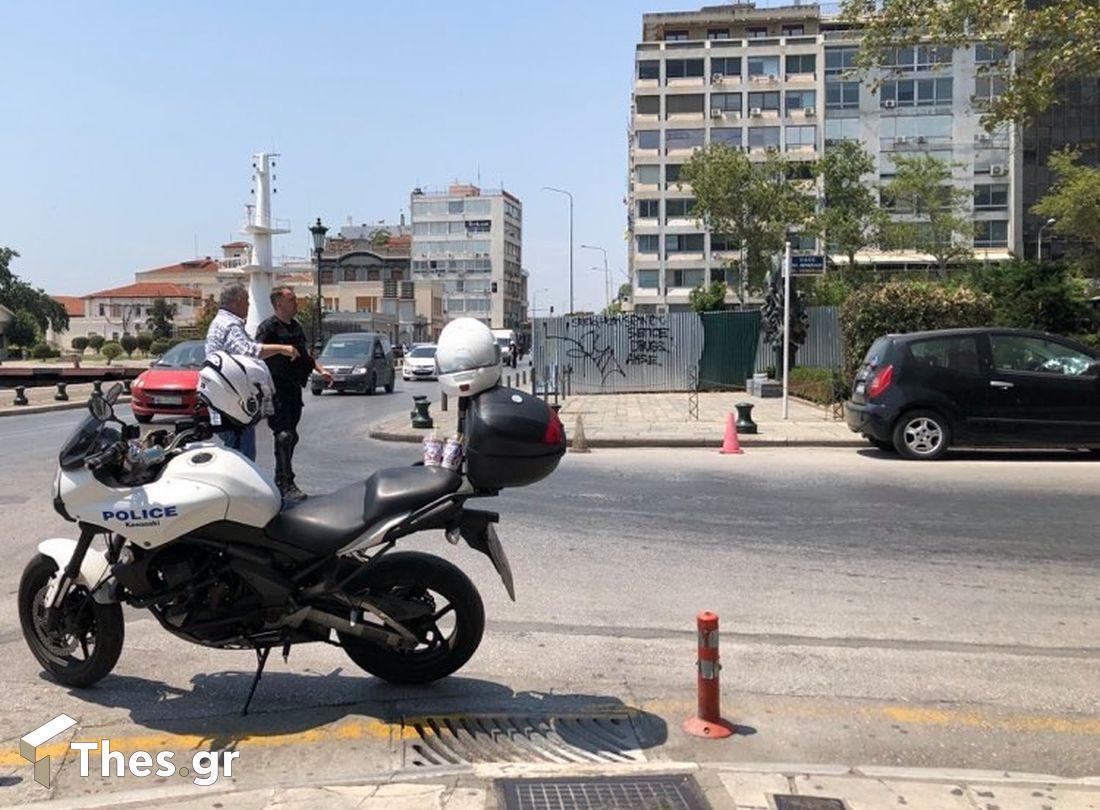 Θεσσαλονίκη: Συναγερμός για ύποπτο αντικείμενο στο Μνημείο του Ολοκαυτώματος, φωτογραφία-2