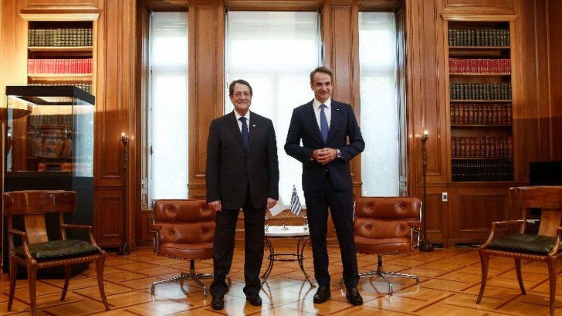 Μίλησε με τον πρόεδρο της Κύπρου ο Κ. Μητσοτάκης
