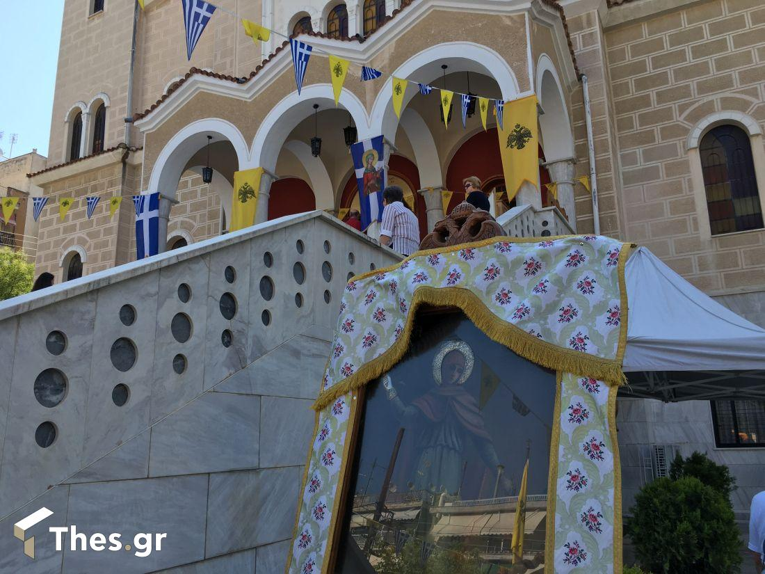 Η Τούμπα γιορτάζει την Αγία Μαρίνα – Σε λειτουργία η υπαίθρια αγορά (ΦΩΤΟ), φωτογραφία-2