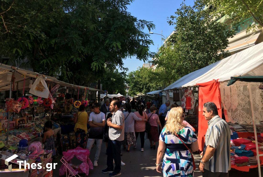 Η Τούμπα γιορτάζει την Αγία Μαρίνα – Σε λειτουργία η υπαίθρια αγορά (ΦΩΤΟ), φωτογραφία-4