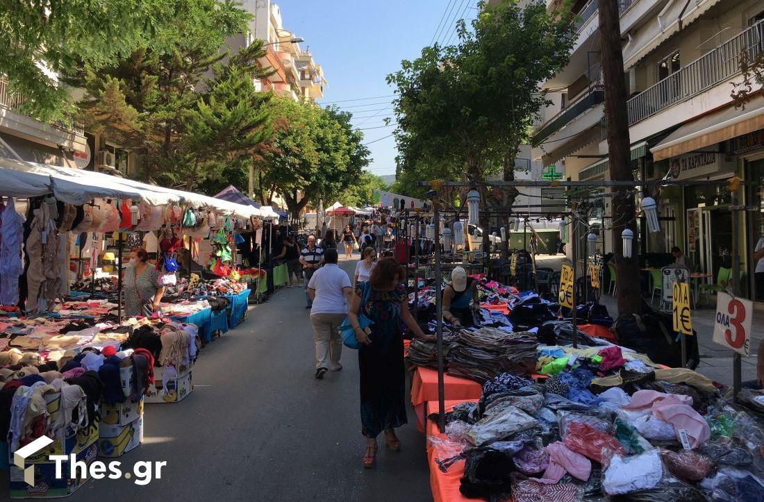 Η Τούμπα γιορτάζει την Αγία Μαρίνα – Σε λειτουργία η υπαίθρια αγορά (ΦΩΤΟ), φωτογραφία-5