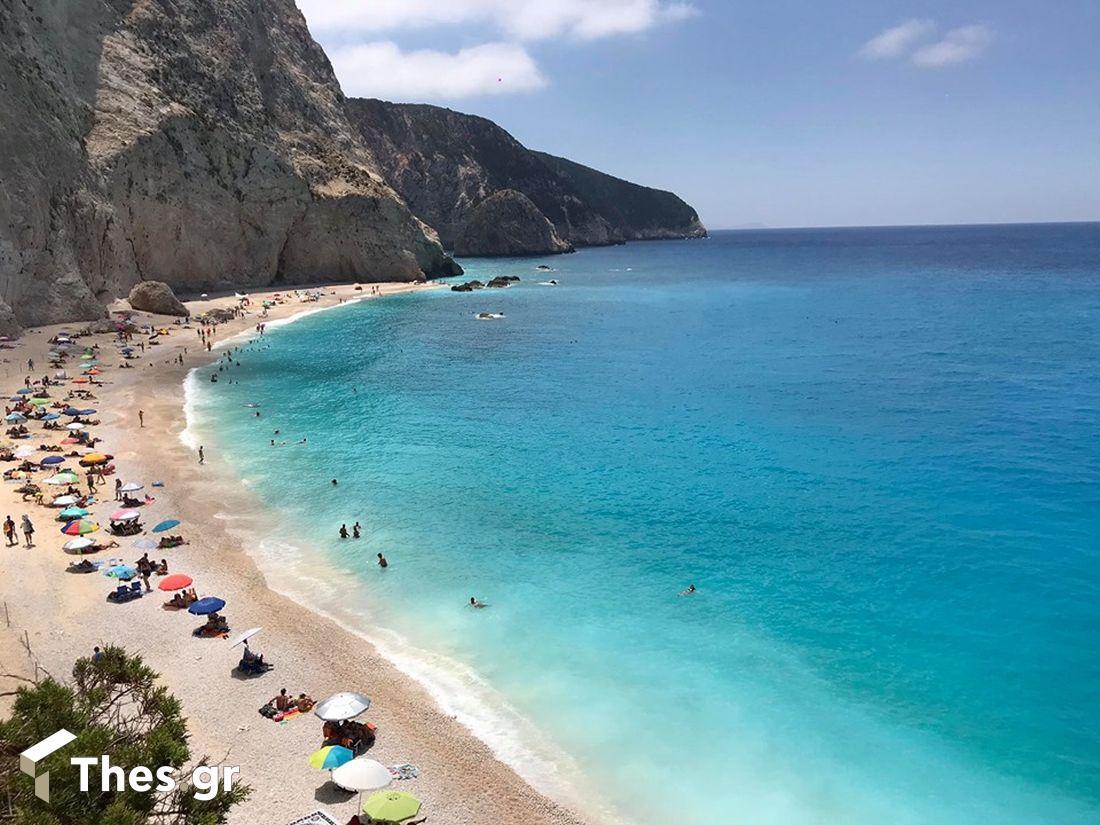 Πόρτο Κατσίκι Λευκάδα παραλία Ελλάδα