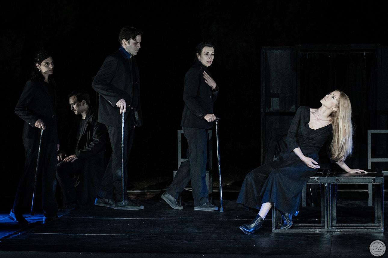 """Η """"Αντιγόνη"""" του Σοφοκλή σήμερα και αύριο στο Ανοιχτό Θέατρο Συκεών"""