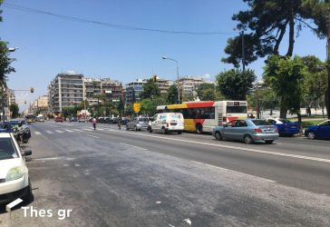 Θεσσαλονίκη: Κλείνει σήμερα (26/7) μία λωρίδα στην Εγνατία για έργα του Μετρό