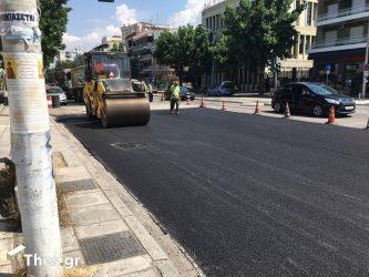 Δήμος Θεσσαλονίκης: Ασφαλτοστρώνονται 100 δρόμοι στο κέντρο και σε γειτονιές της πόλης