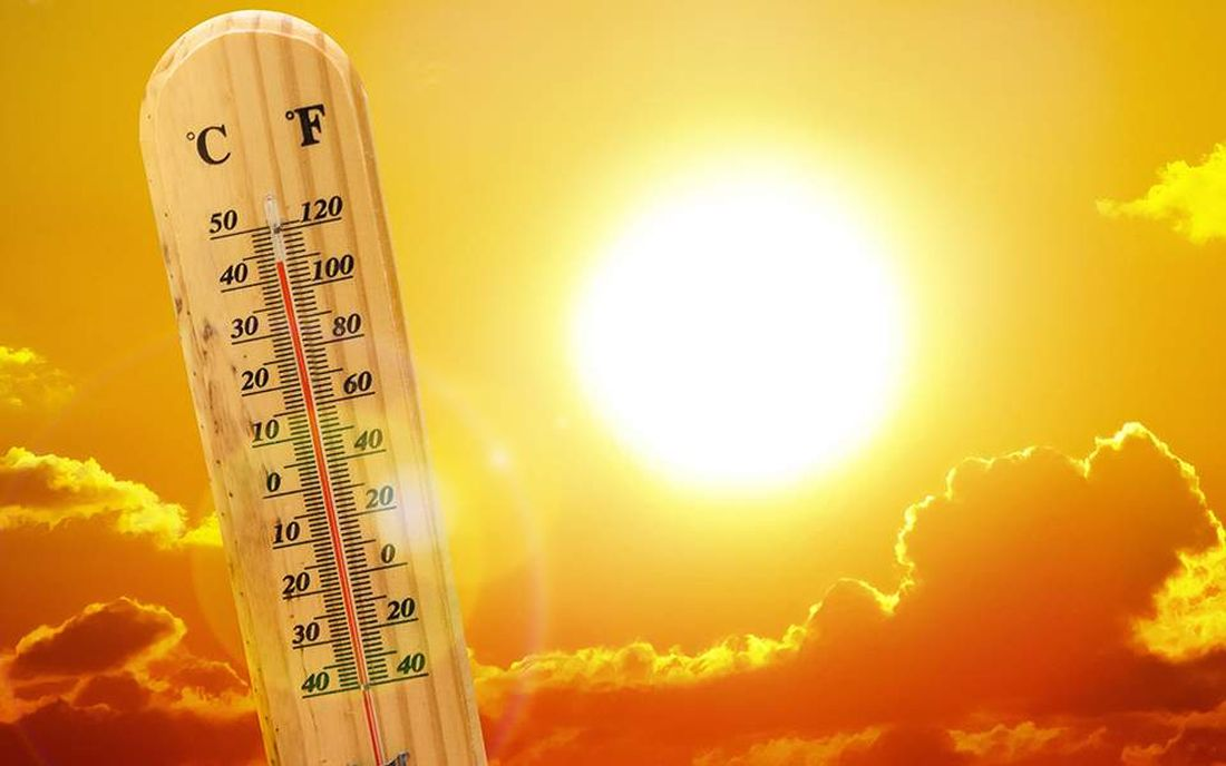 καιρός, καύσωνας, ήλιος, ηλιακή ακτινοβολία. θεμροκρασίες