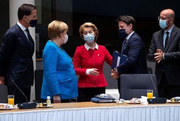 """Μέρκελ προς τους ηγέτες της ΕΕ: """"Κάντε γρήγορα λοκντάουν"""""""