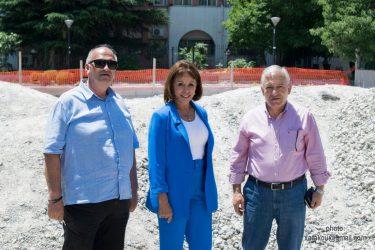 Πατουλίδου, Κυρίζογλου στα αθλητικά έργα στο δήμο Αμπελοκήπων – Μενεμένης