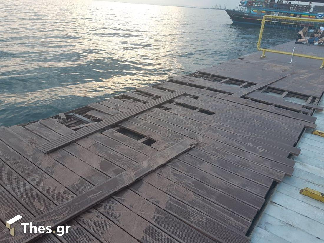 Δήμος Θεσσαλονίκης: Μήνυση κατά παντός υπευθύνου για τους βανδαλισμούς στη Νέα Παραλία (ΦΩΤΟ), φωτογραφία-2