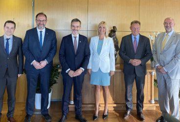 Θεσσαλονίκη: Συνάντηση Ζέρβα με τον αντιπρόεδρο του γερμανικού Κοινοβουλίου