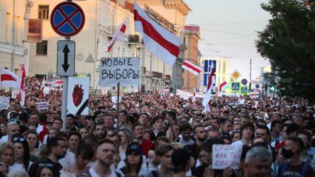 «Υπό έλεγχο» η κατάσταση στην Λευκορωσία λέει το Κρεμλίνο