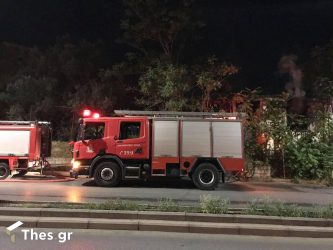 Θεσσαλονίκη: Φωτιά κοντά σε σπίτια στο Νέο Ρύσιο