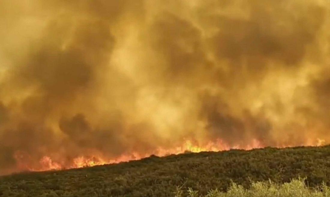 φωτιά πυρκαγιά Λακκωνία Μάνη Κύπρος