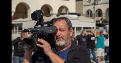 Ο Κωνσταντίνος Σταματίου στη θέση του Προϊσταμένου Τμήματος Εικονοληψίας της ΕΡΤ3