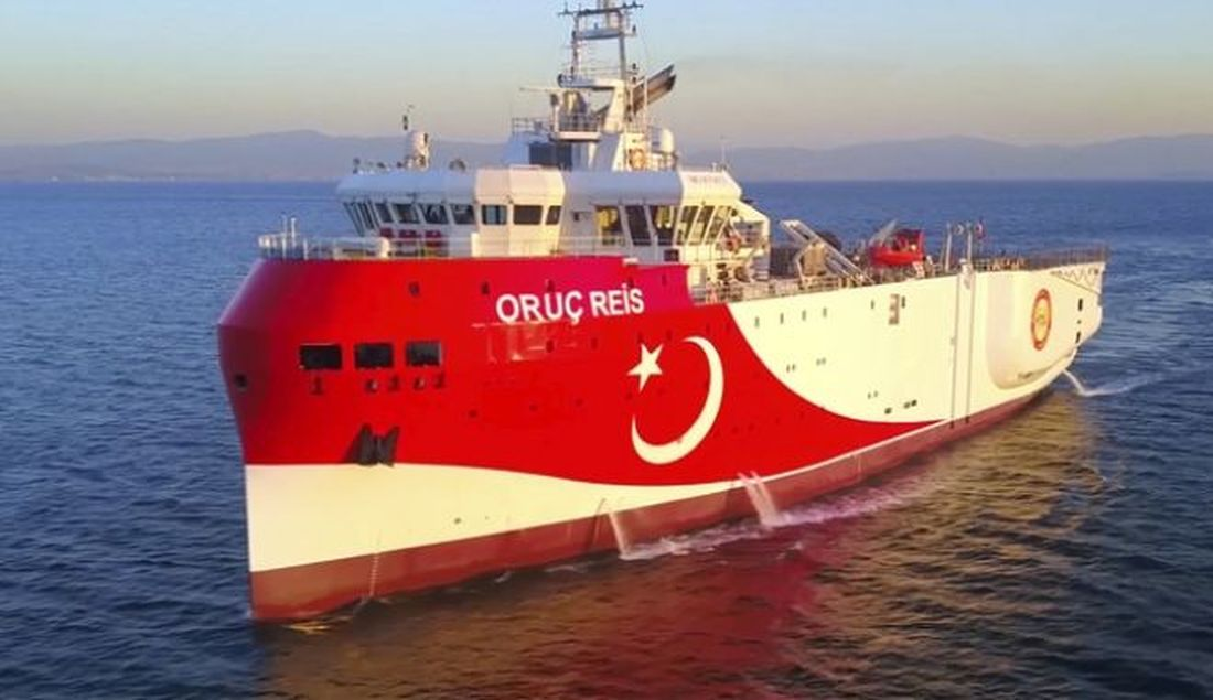 Oruc Reis NAVTEX Ορούτς Ρέις διάβημα Τουρκία