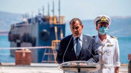 """Παναγιωτόπουλος: """"Χρόνια πολλά στο Πολεμικό Ναυτικό, τους υπερασπιστές της εθνικής μας ταυτότητας"""""""