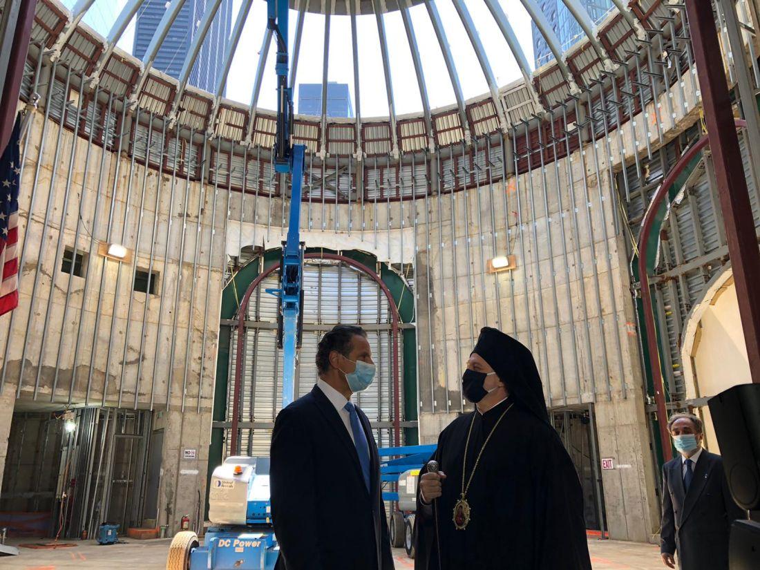 """Σε κλίμα συγκίνησης η επανέναρξη των εργασιών στον Αγιο Νικόλαο στο """"Σημείο Μηδέν"""" (ΦΩΤΟ)"""