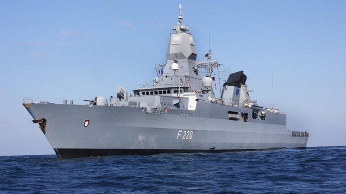 """Γερμανία: Αποπλέει αύριο η φρεγάτα """"Αμβούργο"""" για την Ανατολική Μεσόγειο"""