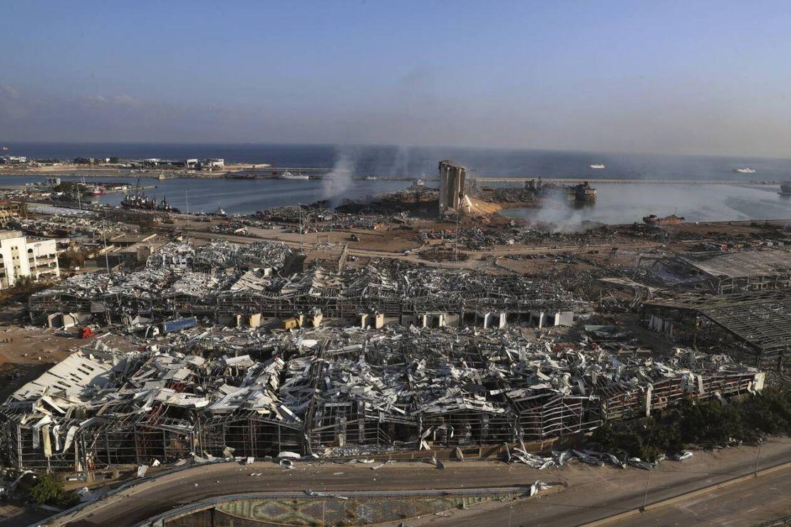 Εκρηξη στη Βηρυτό: Πέντε Ελληνες τραυματίες
