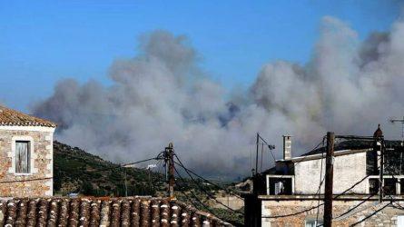 Μάνη: Κάηκαν πάνω από 10.000 στρέμματα δασικής έκτασης