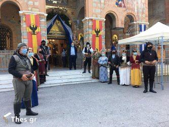 Τηρώντας τα μέτρα και χωρίς μουσικά συγκροτήματα ο εορτασμός στην Παναγία Σουμελά στο Βέρμιο