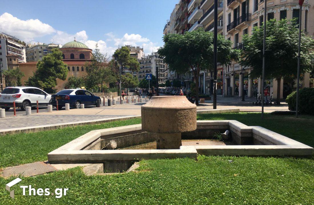 Πότε θα γεμίσουν και πάλι νερό τα σιντριβάνια στη Θεσσαλονίκη;