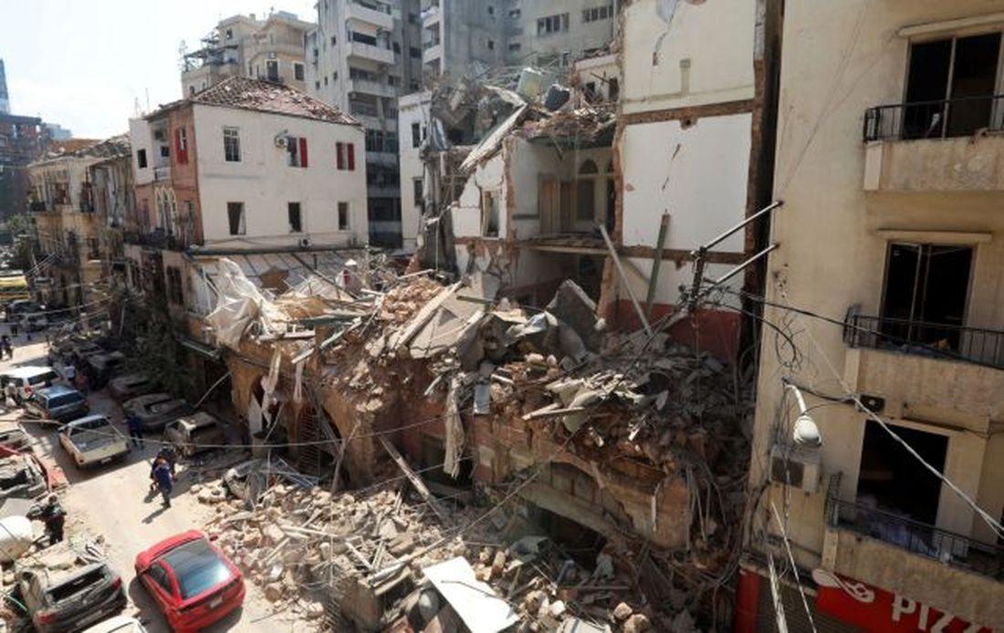 έκρηξη λιμάνι Βηρυτός