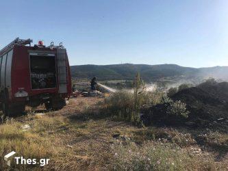 Σάμος: Σε ύφεση η φωτιά – Κάηκε ένα σπίτι