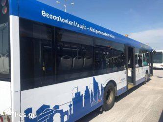 Θεσσαλονίκη: Εκτός λειτουργίας τα λεωφορεία από τη Λειψία λόγω… καύσωνα