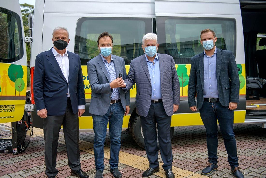 Δωρεά λεωφορείου για το Εργαστήριο Ειδικής Επαγγελματικής Εκπαίδευσης και Κατάρτισης