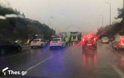Θεσσαλονίκη: Καραμπόλα με πολλά οχήματα στη Βούλγαρη