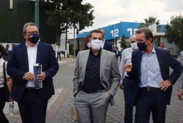 Με τη διοίκηση της ΔΕΘ – Helexpo συναντήθηκε ο Αλέξης Τσίπρας