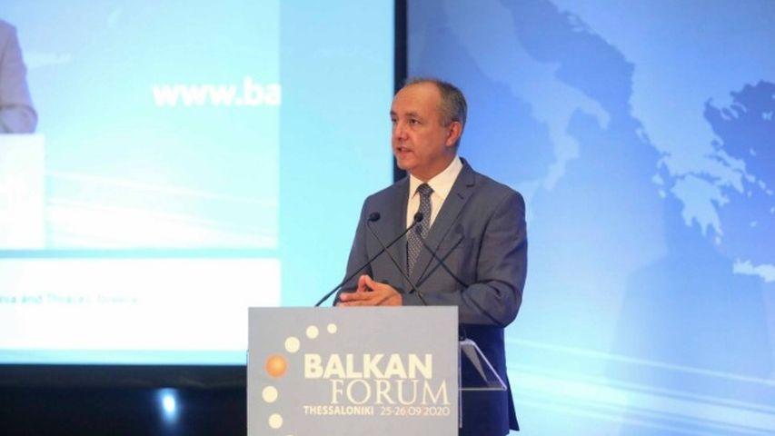 """Καράογλου: """"Τα Βαλκάνια μπορούν να γίνουν περιοχή ειρήνης, συνεργασίας και ευημερίας"""""""