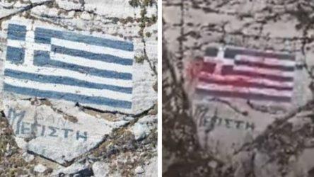 Τι είπε ο αντιδήμαρχος Καστελορίζου για την κόκκινη μπογιά στην ελληνική σημαία