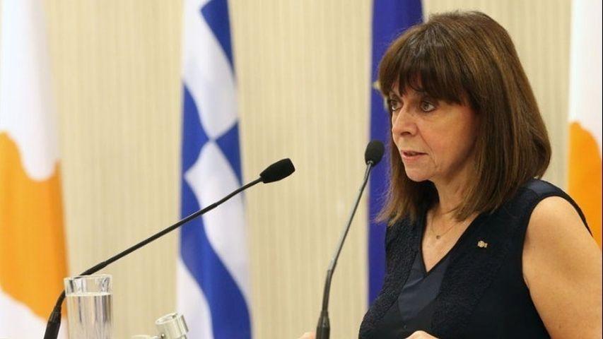 """Σακελλαροπούλου από Κύπρο: """"Εξαιρετικά σημαντικό το έργο της Διερευνητικής Επιτροπής Αγνοουμένων"""""""