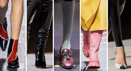 παπούτσια top trends Φθινόπωρο / Χειμώνας 2020 -21