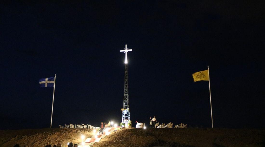 """""""Ο Ερντογάν θα διαμαρτυρηθεί στην Μέρκελ για τον σταυρό 15 μέτρων στον Εβρο"""""""