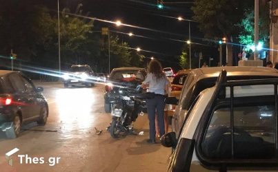 Θεσσαλονίκη: Τραυματισμός δικυκλιστή σε τροχαίο στο κέντρο