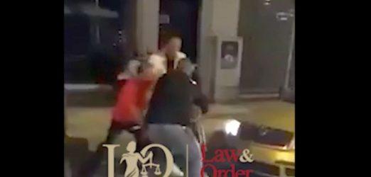 Κατερίνη: Βίντεο από τη στιγμή που εκπυρσοκρότησε όπλο που επιχείρησε να αρπάξει από αστυνομικό